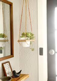 Hanging Plant Diy Macrame Hanging Plant Shelf