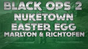 Easter Egg Quotes Black Ops 2 Nuketown Zombies Easter Egg Richtofen U0026 Marlton Quotes