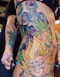 22 awesome dragon ball tattoos fans