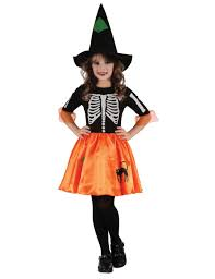 Skeleton Halloween Costume Kids Skeleton Witch Costume For Girls Kids Costumes And Fancy Dress
