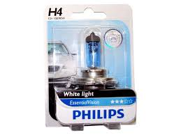 nissan micra headlight bulb philips 12569evb1 h4 essential vision headlight 12v 100 90w