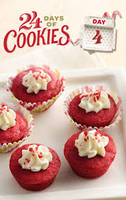 red velvet cookie cups recipe cookie tray cream cheese