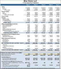 33 financial business plan template excel financial business plan