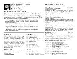 Creative Director Resume Samples Fashion Design Resume Sle 28 Images Dress Designer Resume