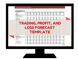 trading profit and loss forecast template omnis group