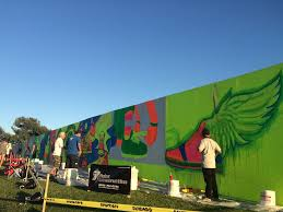 artists behind glow in the dark mural attempt to join eight other