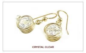 cercei de aur spiral cercei din sarma de aur 14k gf goldfilled 6 culor