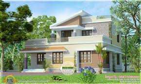 small house in 1516 square small two storied house kerala home design and