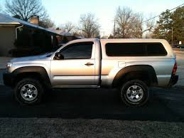 toyota tacoma shell for sale access cab cer shell will fit regular cab tacoma