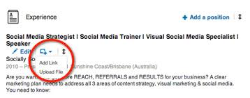 How To Add My Resume To Linkedin How To Enhance Your Linkedin Profile With Professional Portfolio