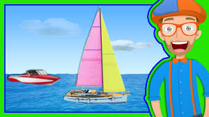 boats for preschoolers the blippi boat song youtube