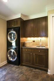 washer and dryer cabinets stacking washer dryer cabinet washer dryer laundry room traditional
