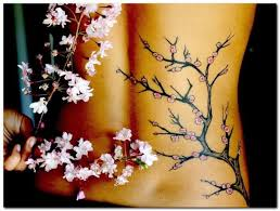 lower side back cover up with fantastic tree small flower