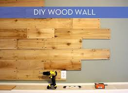 how to rustic wood wall curbly