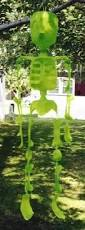Halloween Decorations Using Milk Jugs - i love it especially with halloween coming up skeleton recycled