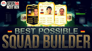 best possible germany team w legend cards fifa 14 ultimate