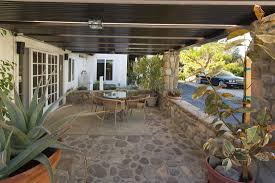 Patio Stone Flooring Ideas by Exterior Divine Outdoor Living Space Decoration With Grey Stone