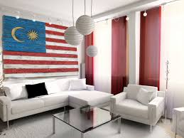 Malaysai Flag Weathered Wood One Of A Kind 3d Malaysian Flag Wooden Vintage
