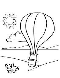 free printable air balloon coloring pages kids alauna u0027s