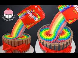 skittles rainbow cake how to make a skittles cake cupcake