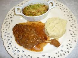 cuisiner des cuisses de canard confites cuisse de canard et ses légumes les délices de thé