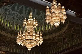 Sultan Qaboos Grand Mosque Chandelier Sultan Qaboos Grand Mosque Muscat Oman Editorial Photography