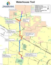 Beaverton Oregon Map by Tualatin Hills Park U0026 Recreation District Two Miles Of Trail To