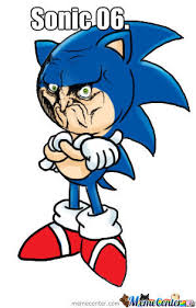 Mad Meme Face - mad sonic 06 face by creepergamer12 meme center