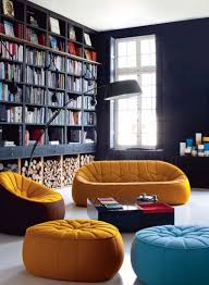 trendy bright color residing room design inspiration interior design