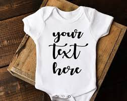 Monogram Baby Items Custom Onesie Etsy
