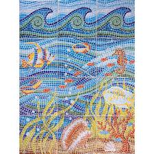 imagine tile under the sea 24 in x 32 in ceramic mural wall tile ceramic mural wall tile 5 3