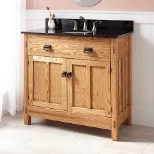 Oak Bathroom Vanity Cabinets by Bathroom Cabinets Wooden Oak Solid Wood Bathroom Unfinished