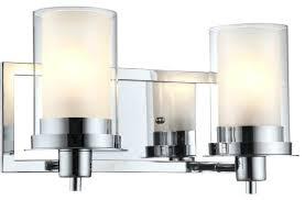 valuable chrome bathroom vanity light fixtures 2 light vanity