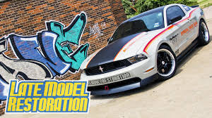 late model restoration mustang sve pace car 2011 mustang gt project 777 late model