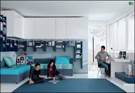 bedroom daring blue teenage decoration using light blue