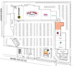 Rivergate Floor Plan by North Charleston Sc North Charleston Center Retail Space For