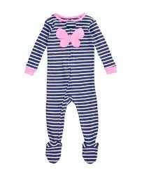 s baby pajamas striped footie baby baby