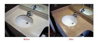 Refinish Kitchen Countertop by Grout Expectations Countertop Refinishing