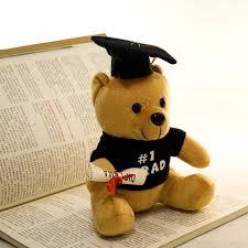 graduation bears hot 1pc 20cm graduation bears gifts dressed plush toys high