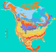 Us Times Zones Map by Average Annual Temperature Ecoclimax Temperature Map Of Central