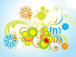 spring floral art