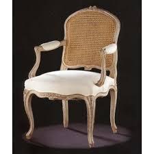 fauteuil dos fauteuil louis xv dos canné déco ameublement