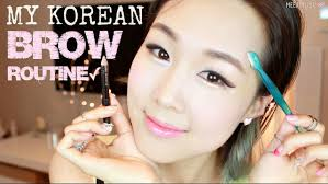 How To Make Wax For Your Eyebrows Meejmuse Pictorial Korean Brows In 4 Steps Grooming Shaping