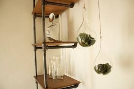 How To Make A Pipe Bookshelf As Promised Diy Industrial Pipe Shelving Hello Lidy