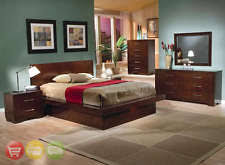 Modern King Platform Bed Coaster Furniture 200711ke King Platform Bed With Rail