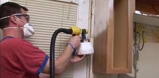 how to paint kitchen cabinets sprayer diy kitchen cabinet painting tips
