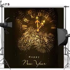 new years back drop aliexpress buy mehofoto christmas clock vinyl photography