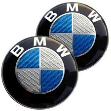 awesome awesome 2pk bmw roundel replacement emblem for or