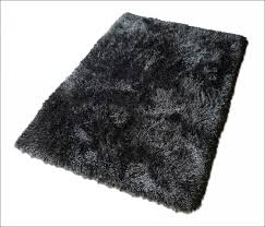 Black And Red Shaggy Rugs Interiors Marvelous Fuzzy Area Rugs Black And White Shag Rug