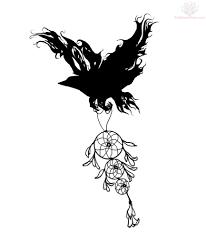 lady bug on clover tattoo design